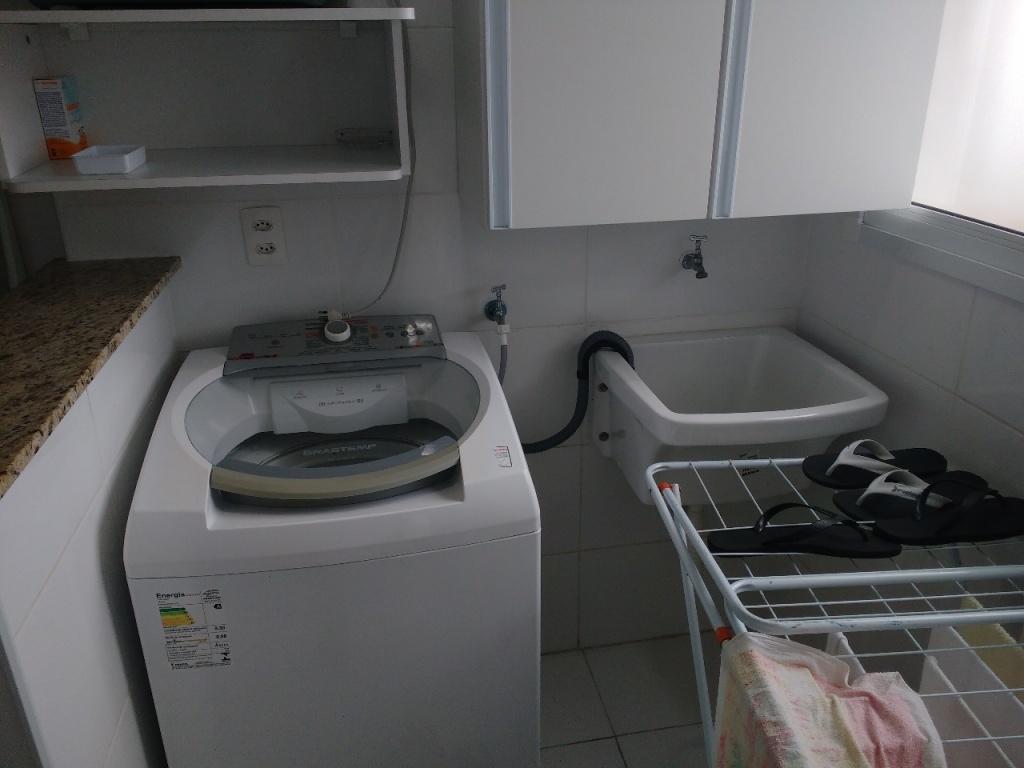 Área de serviço do apartamento com 1 dormitórios em Campo da Aviação - Praia Grande