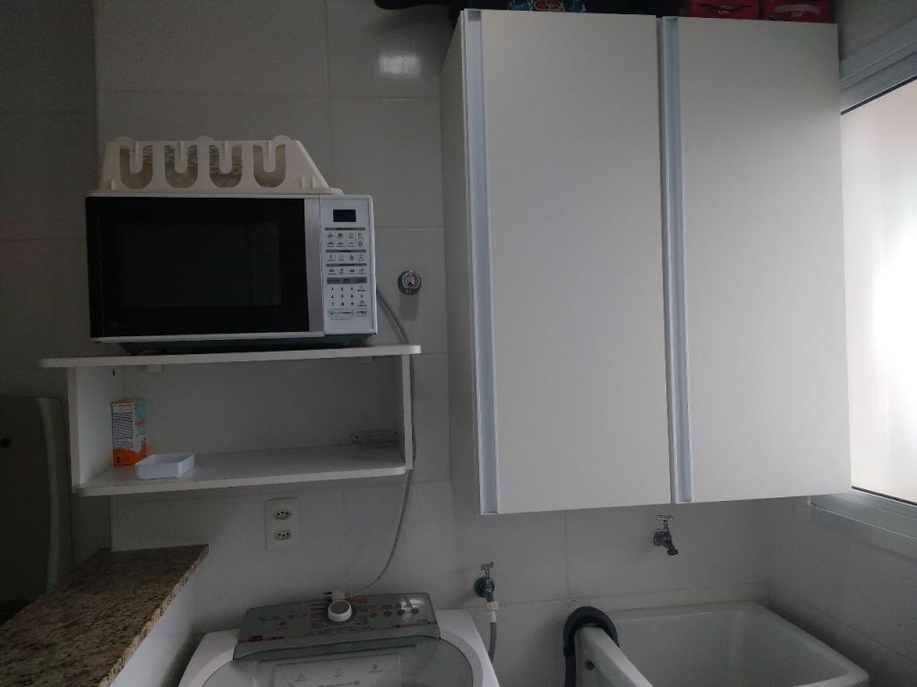 Área de serviço ang 02 do apartamento com 1 dormitórios em Campo da Aviação - Praia Grande