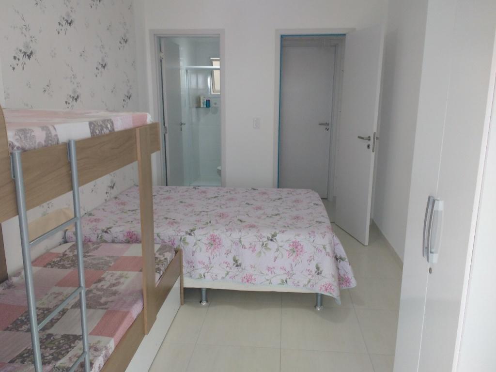 Suíte ang 03 do apartamento com 1 dormitórios em Campo da Aviação - Praia Grande