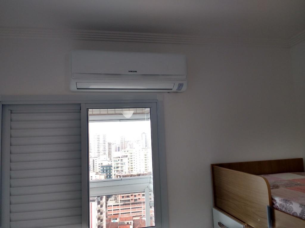 Suíte ang 04 do apartamento com 1 dormitórios em Campo da Aviação - Praia Grande