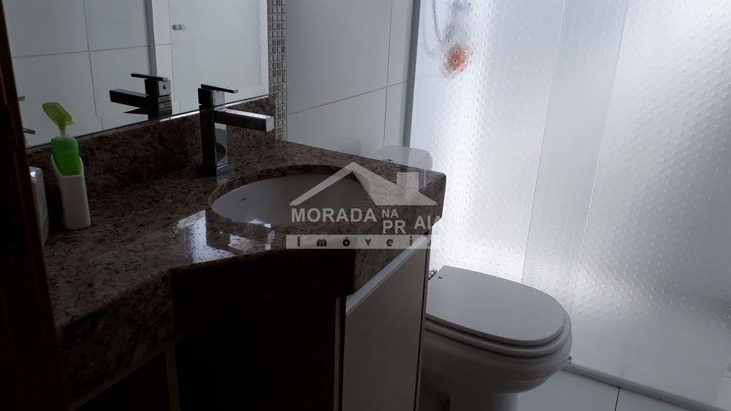 WC do apartamento com 2 dormitórios em Boqueirão - Praia Grande
