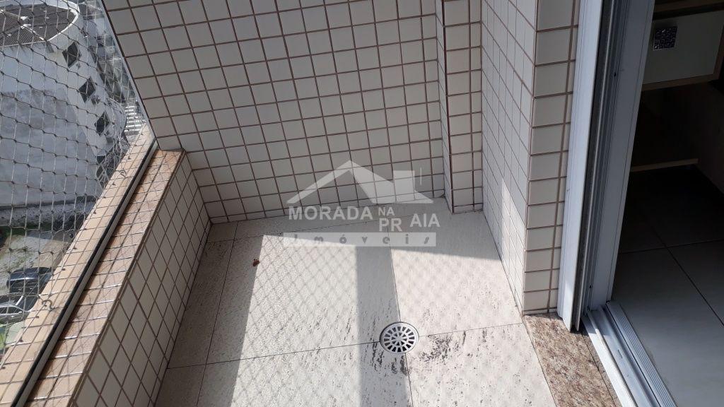 Sacada da Suíte do apartamento com 2 dormitórios em Boqueirão - Praia Grande