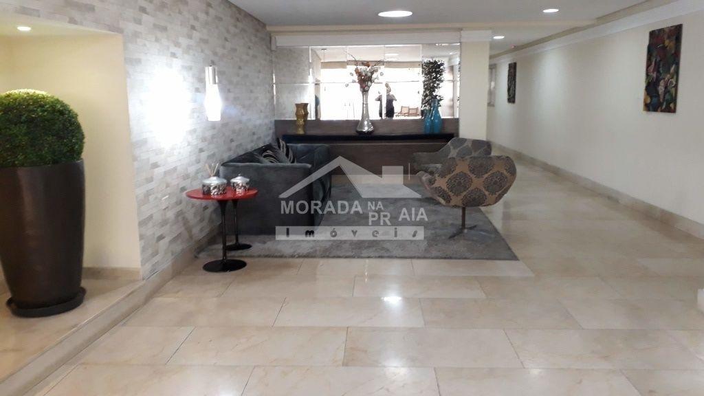 Hall de Entrada do apartamento com 2 dormitórios em Boqueirão - Praia Grande