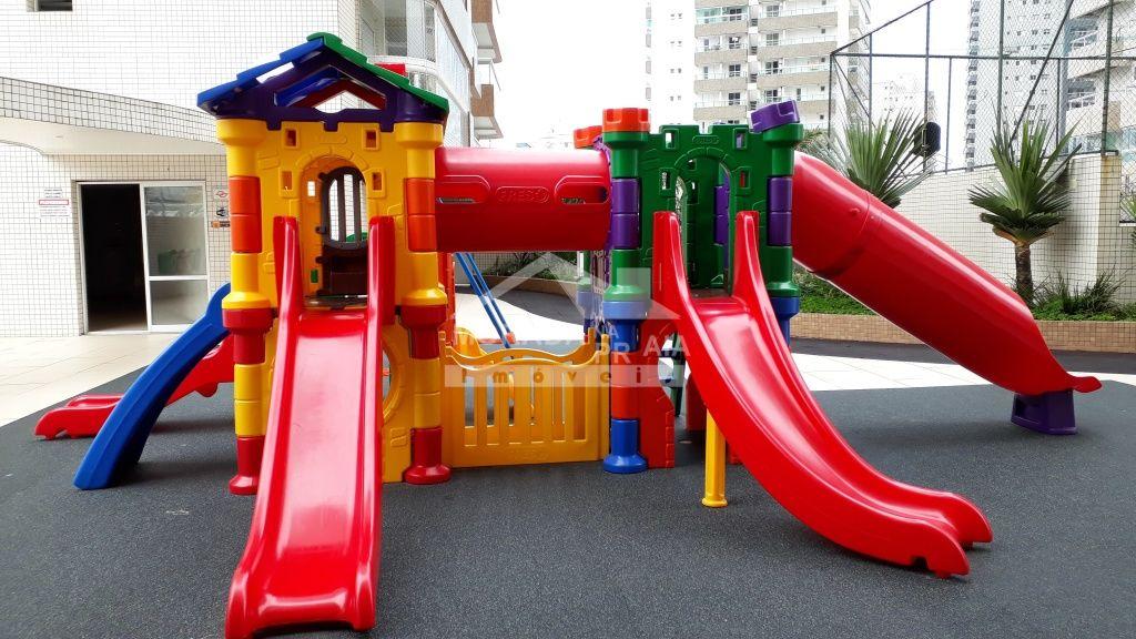 Playground do apartamento com 2 dormitórios em Boqueirão - Praia Grande