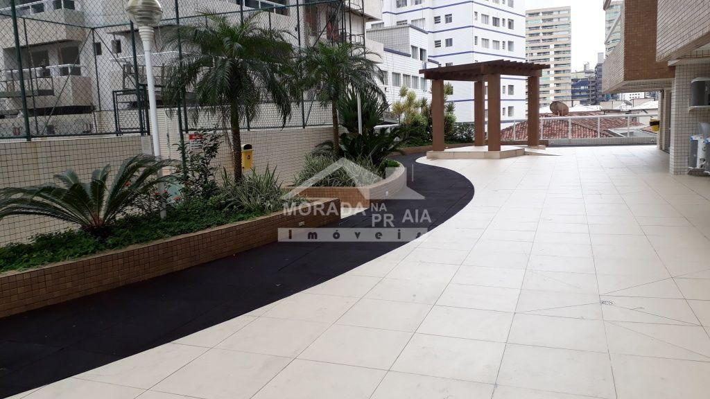 Área Externa do apartamento com 2 dormitórios em Boqueirão - Praia Grande