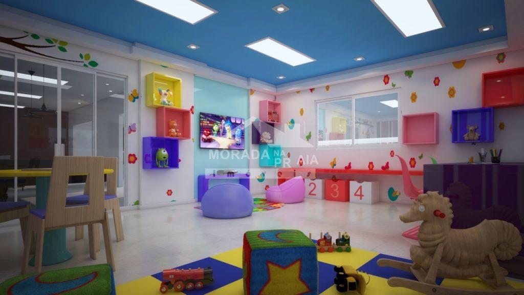 Espaço Kids do apartamento com 3 dormitórios em Canto do Forte - Praia Grande