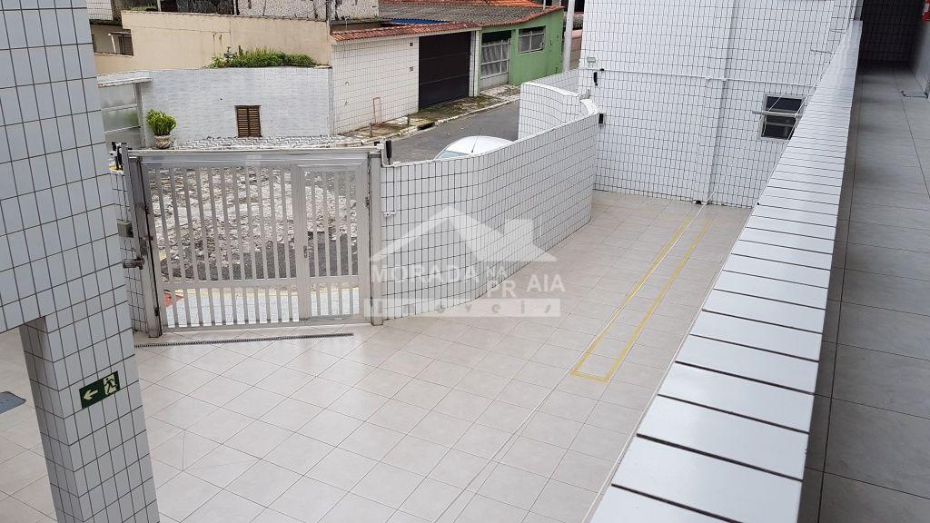 Garagem do apartamento com 2 dormitórios em Canto do Forte - Praia Grande