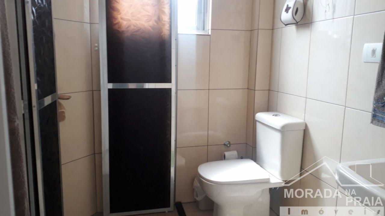 WC  do apartamento com 1 dormitórios em Canto do Forte - Praia Grande