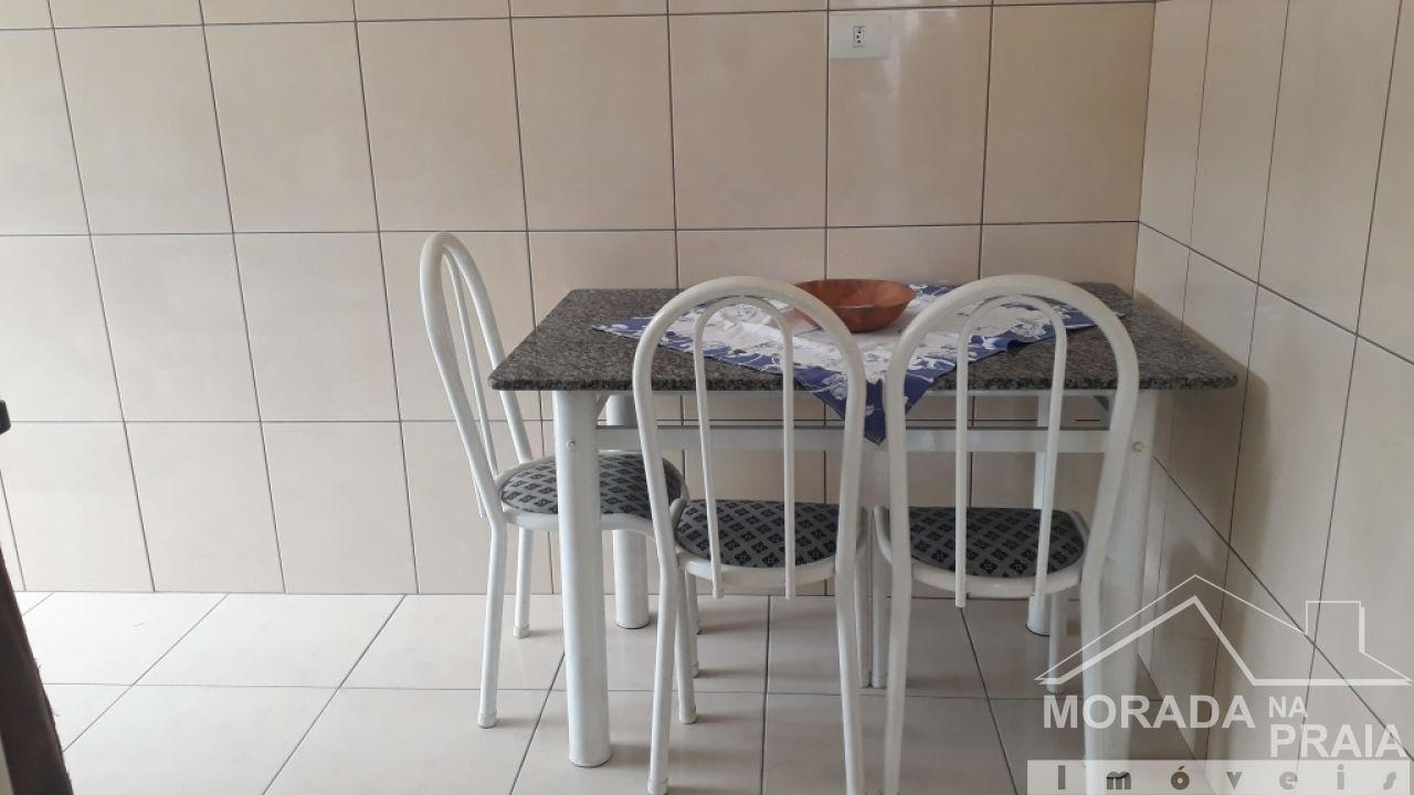 Saleta de Jantar do apartamento com 1 dormitórios em Canto do Forte - Praia Grande