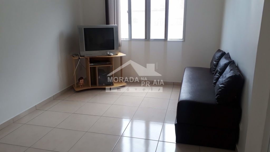 Sala do apartamento com 1 dormitórios em Canto do Forte - Praia Grande