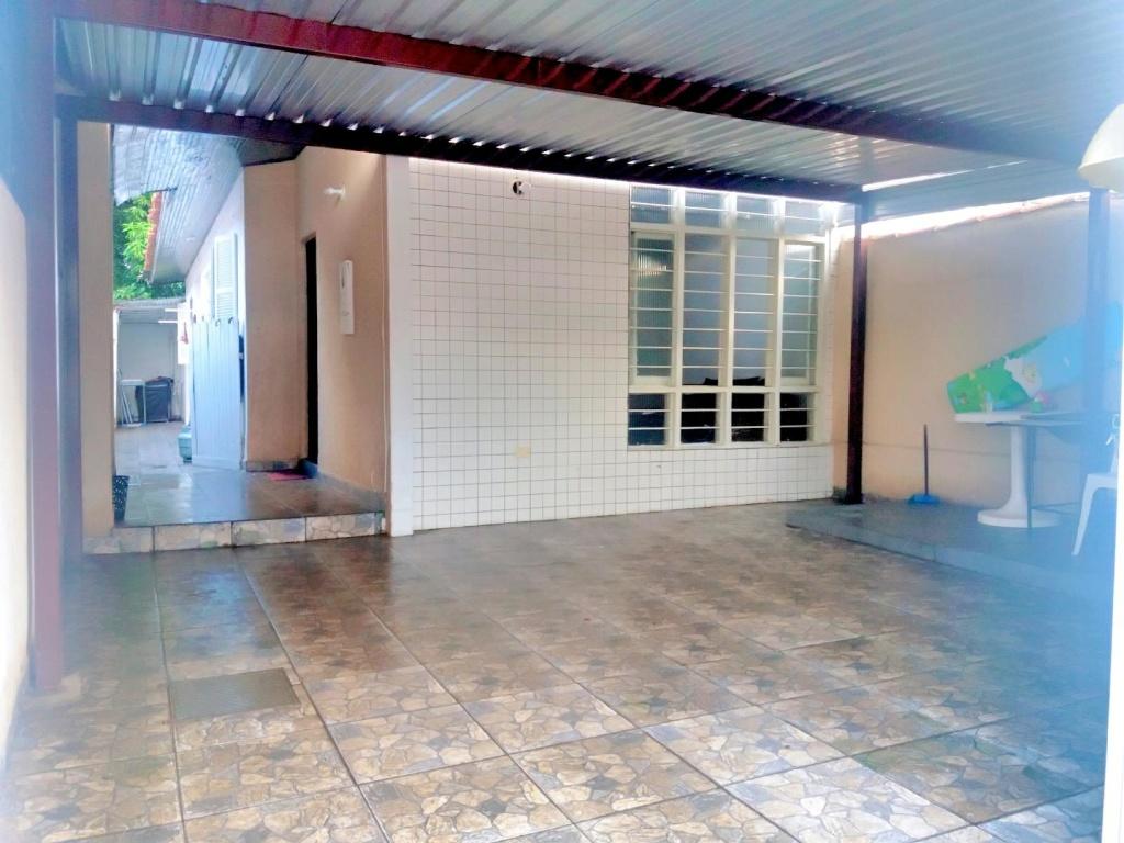 Garagem do casa geminada com 2 dormitórios em Boqueirão - Praia Grande