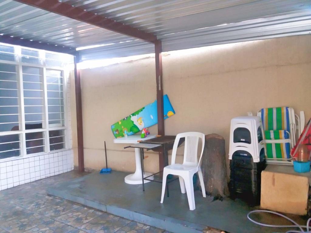 Garagem ang 02 do casa geminada com 2 dormitórios em Boqueirão - Praia Grande