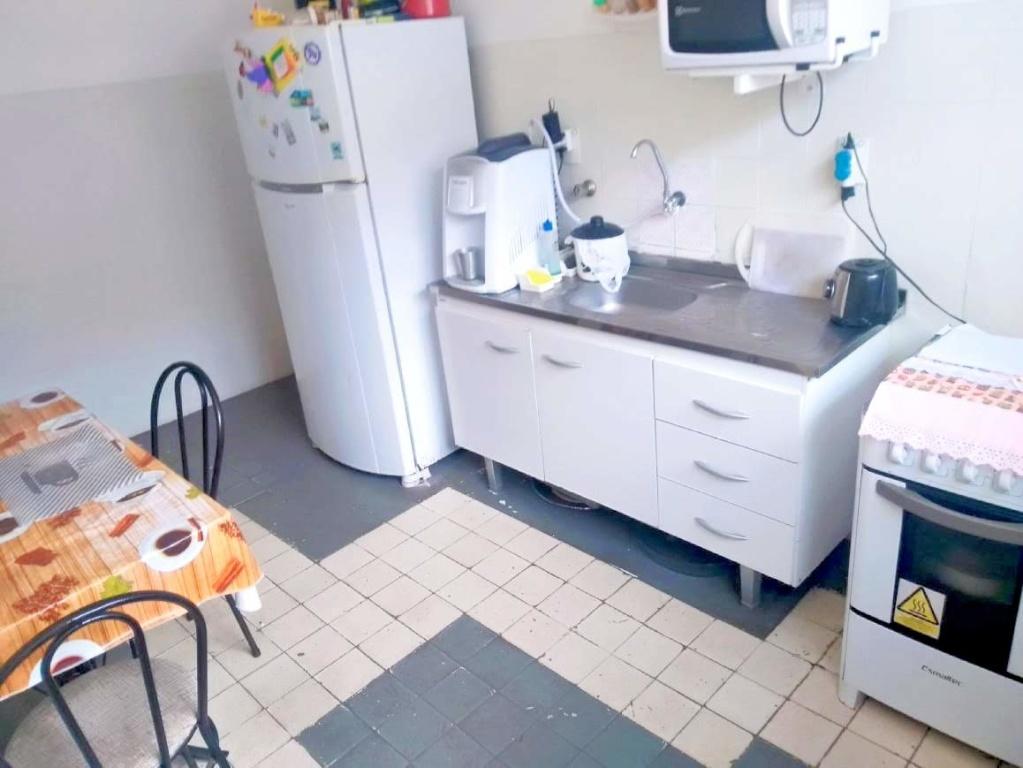 Cozinha ang 02 do casa geminada com 2 dormitórios em Boqueirão - Praia Grande