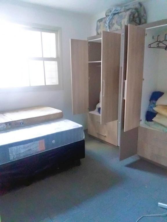 Dormitório 02 do casa geminada com 2 dormitórios em Boqueirão - Praia Grande