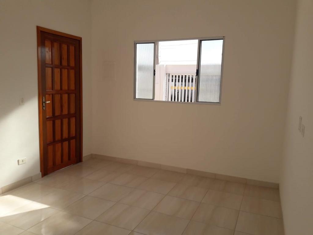Sala do casa geminada com 2 dormitórios em Balneário Esmeralda - Praia Grande