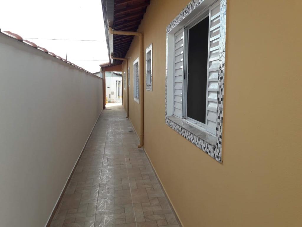 Corredor Externo do casa geminada com 2 dormitórios em Balneário Esmeralda - Praia Grande