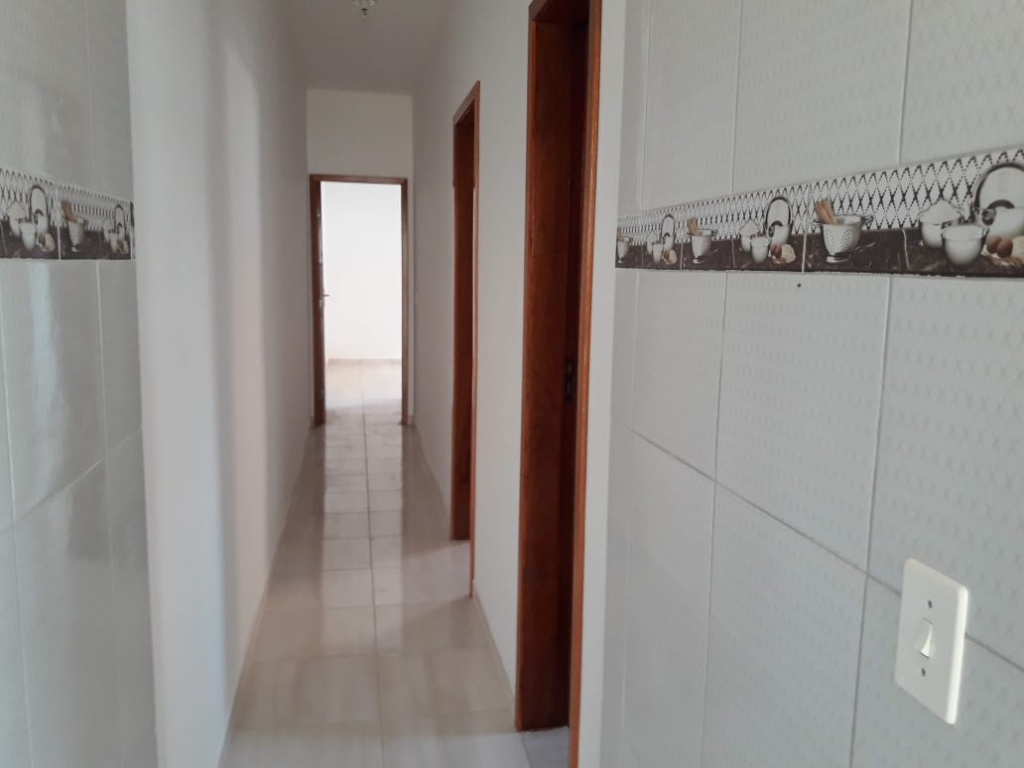 Corredor Interno do casa geminada com 2 dormitórios em Balneário Esmeralda - Praia Grande