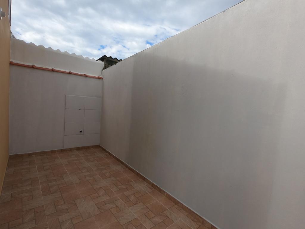 QUINTAL do casa geminada com 2 dormitórios em Balneário Esmeralda - Praia Grande
