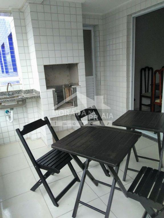 Sacada Gourmet do apartamento com 3 dormitórios em Canto do Forte - Praia Grande