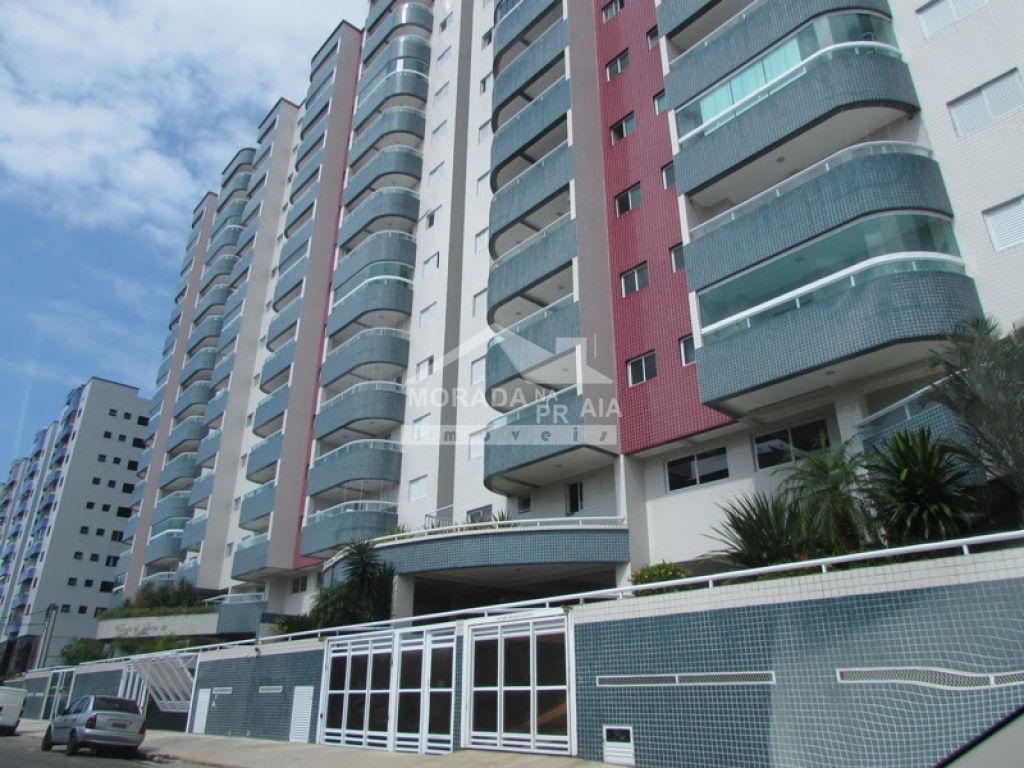 Fachada do apartamento com 2 dormitórios em Cidade Ocian - Praia Grande