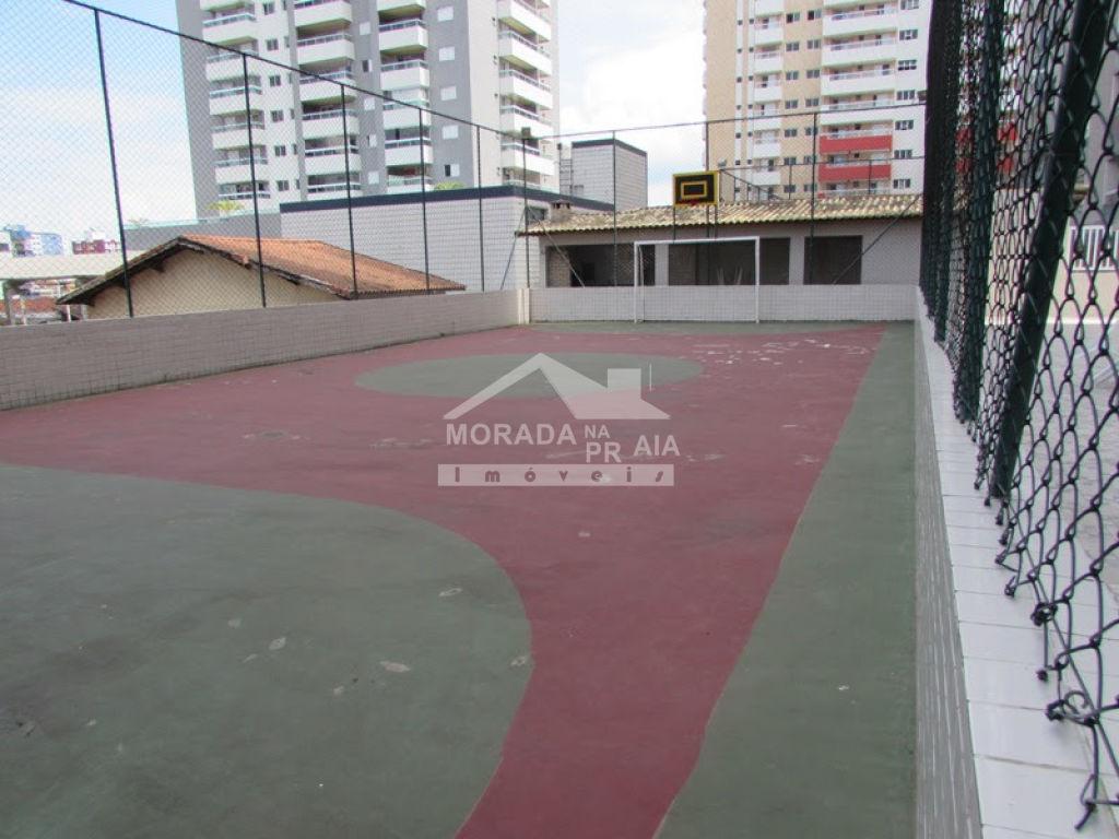 Quadra poliesportiva do apartamento com 2 dormitórios em Cidade Ocian - Praia Grande