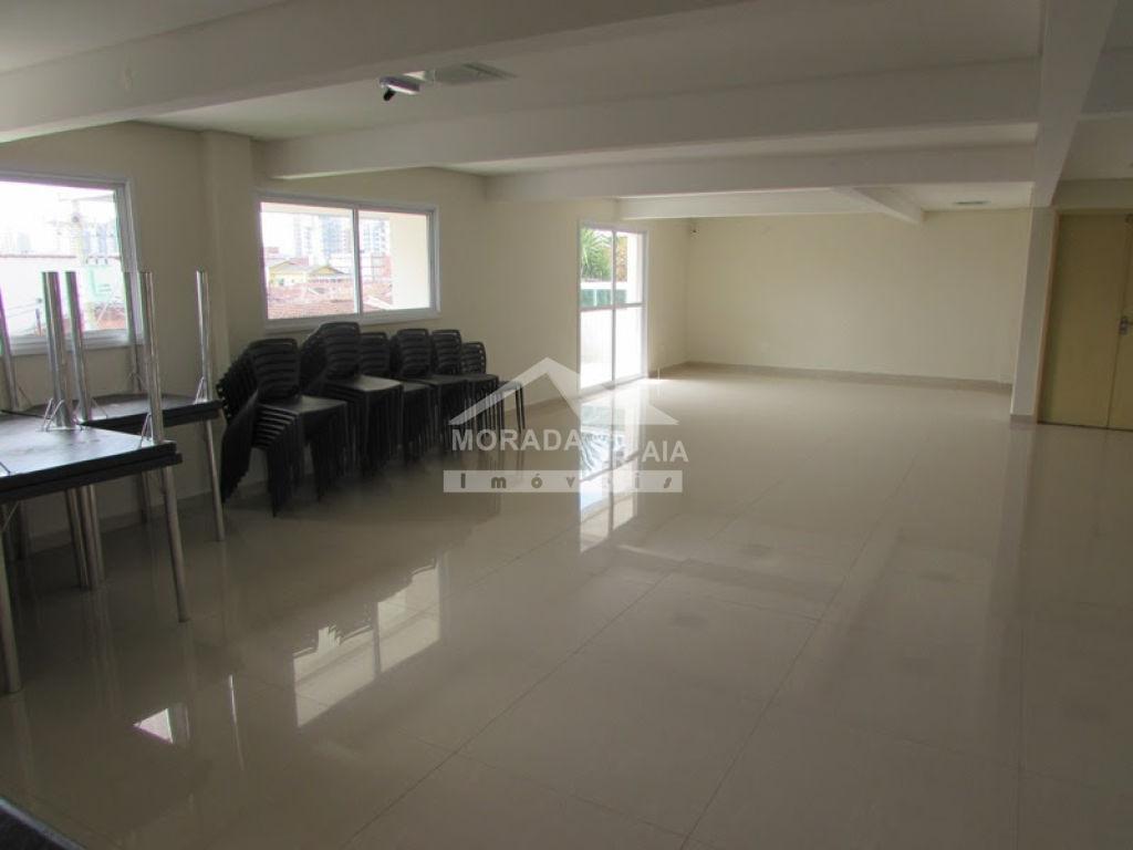 Salão de festas do apartamento com 2 dormitórios em Cidade Ocian - Praia Grande