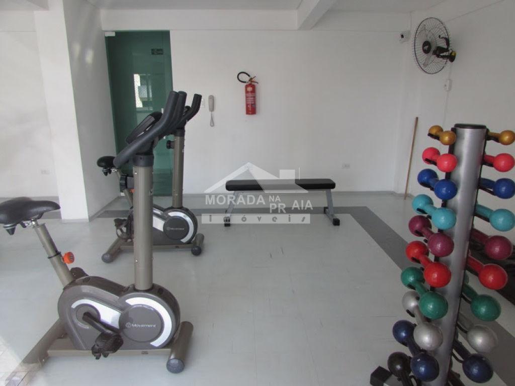 Academia do apartamento com 2 dormitórios em Cidade Ocian - Praia Grande