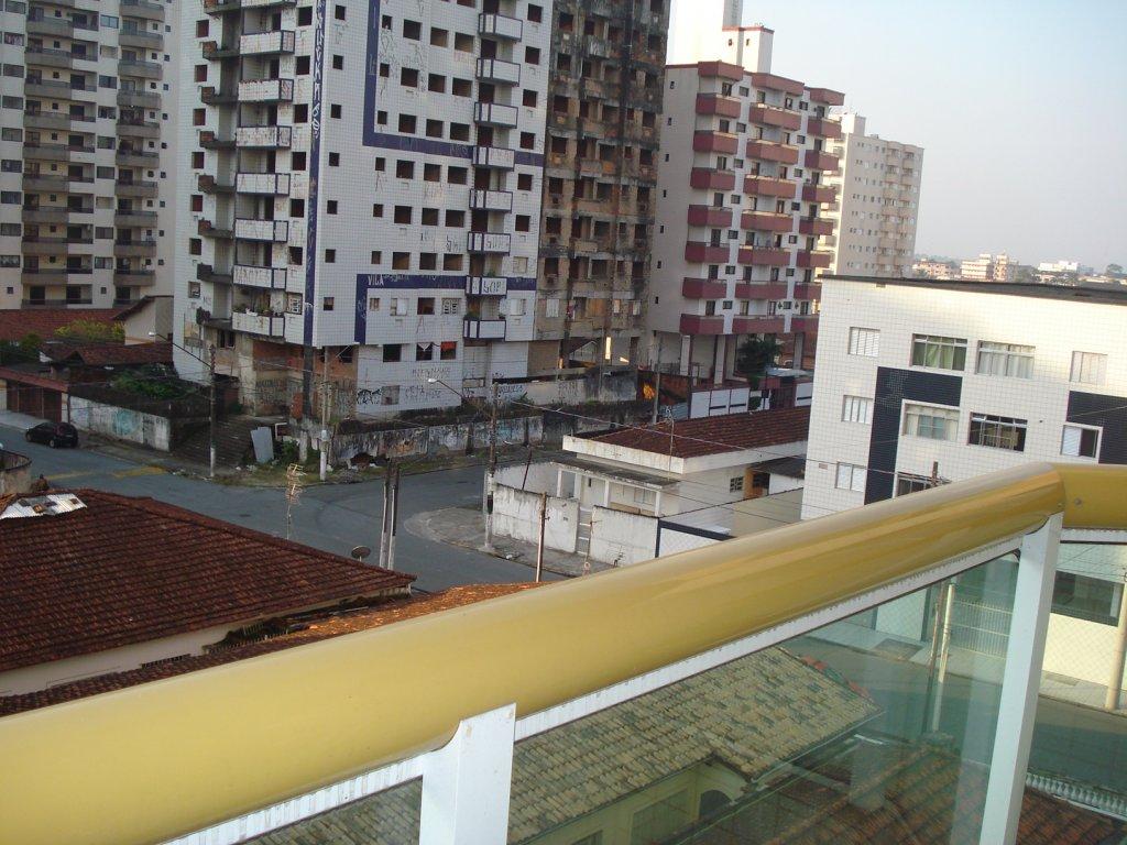 Vista do dorm do apartamento com 2 dormitórios em Vila Tupi - Praia Grande