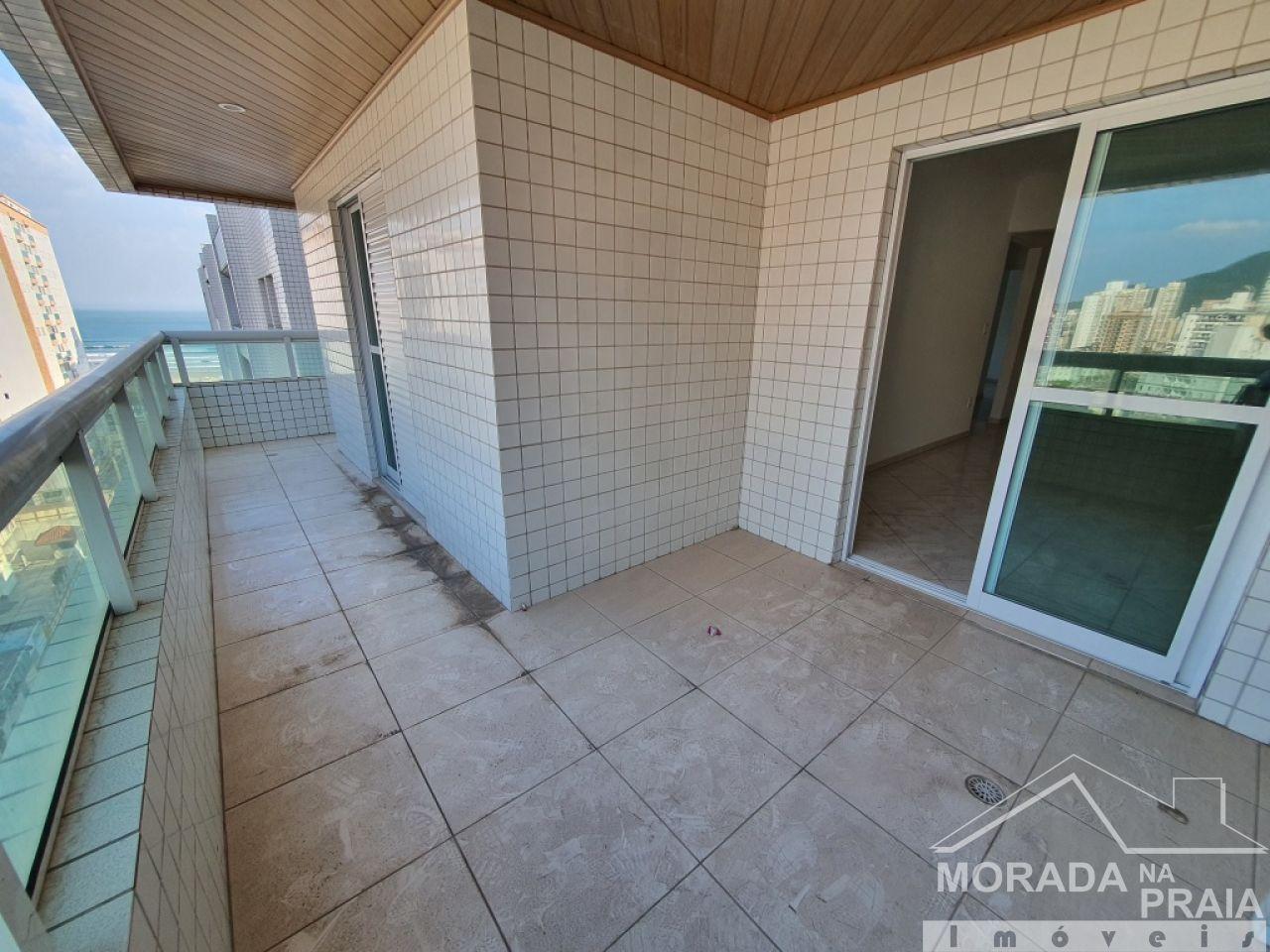 Área de serviço do apartamento com 3 dormitórios em Vila Guilhermina - Praia Grande