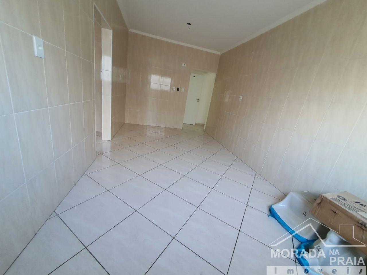 WC suíte 01 do apartamento com 3 dormitórios em Vila Guilhermina - Praia Grande