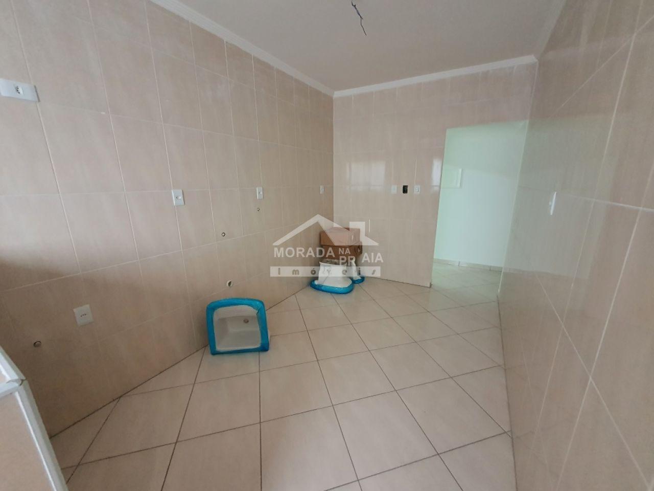 WC suíte do apartamento com 2 dormitórios em Vila Guilhermina - Praia Grande