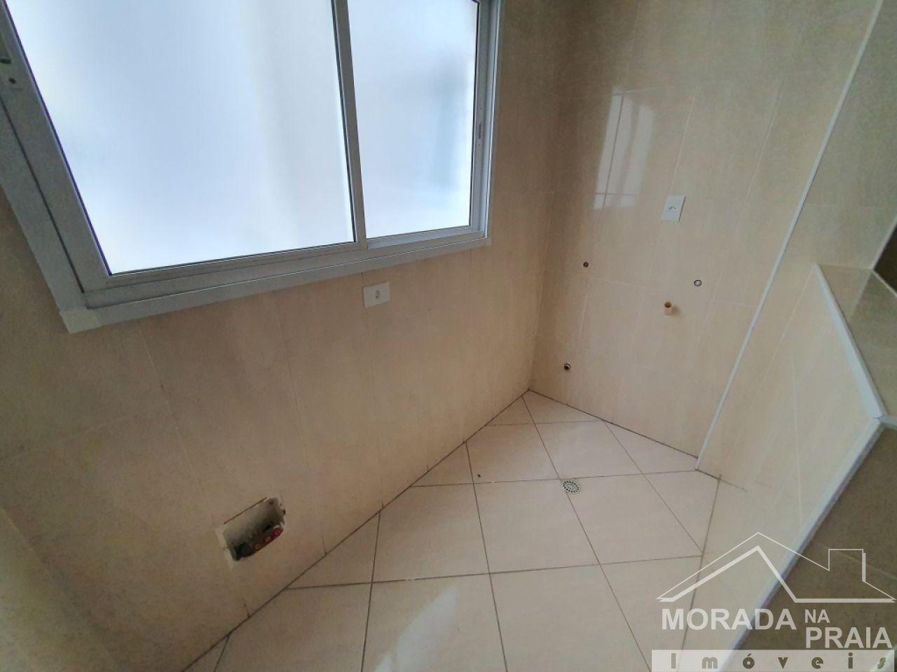 WC social do apartamento com 2 dormitórios em Vila Guilhermina - Praia Grande