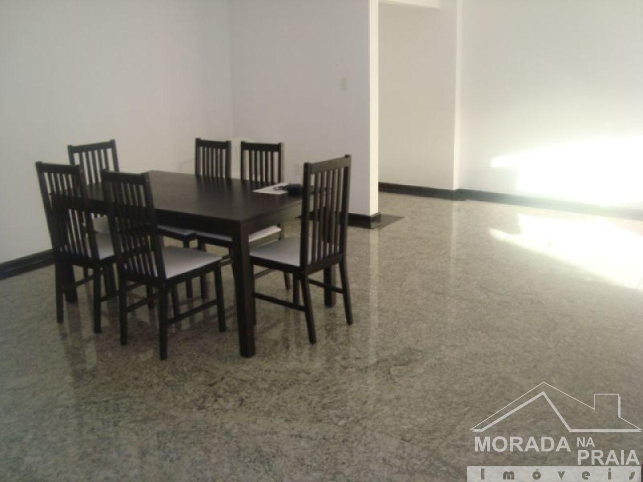 Sala ang 03 do apartamento com 3 dormitórios em Canto do Forte - Praia Grande