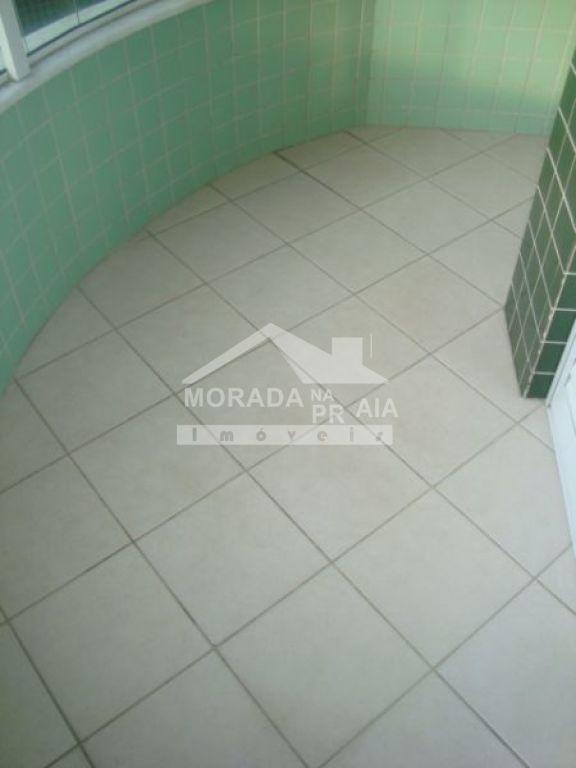 Sacada suíte 02 do apartamento com 3 dormitórios em Canto do Forte - Praia Grande