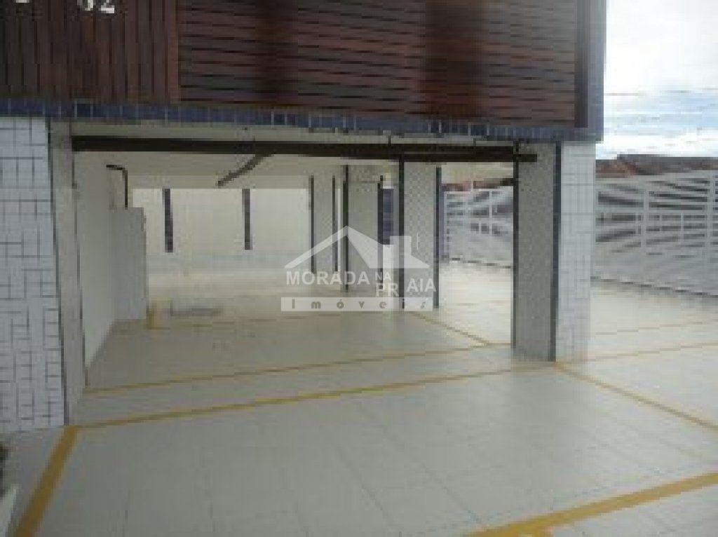 Garagem do apartamento com 2 dormitórios em Vila Mirim - Praia Grande