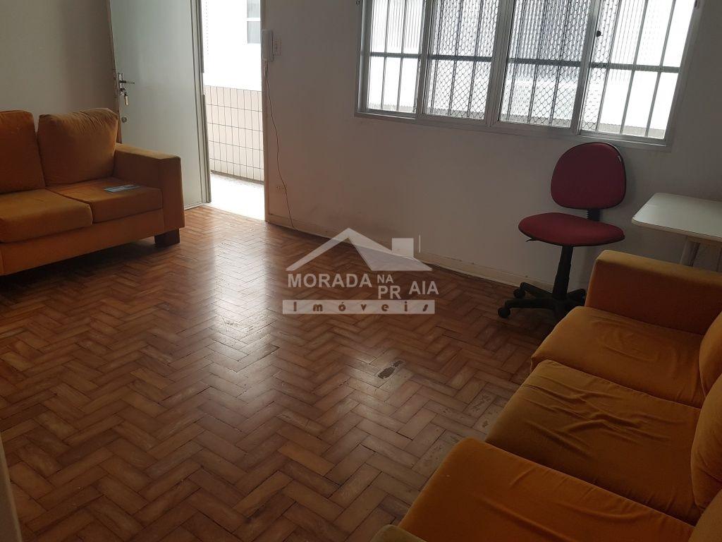 Sala ang 03 do apartamento com 2 dormitórios em Boqueirão - Praia Grande