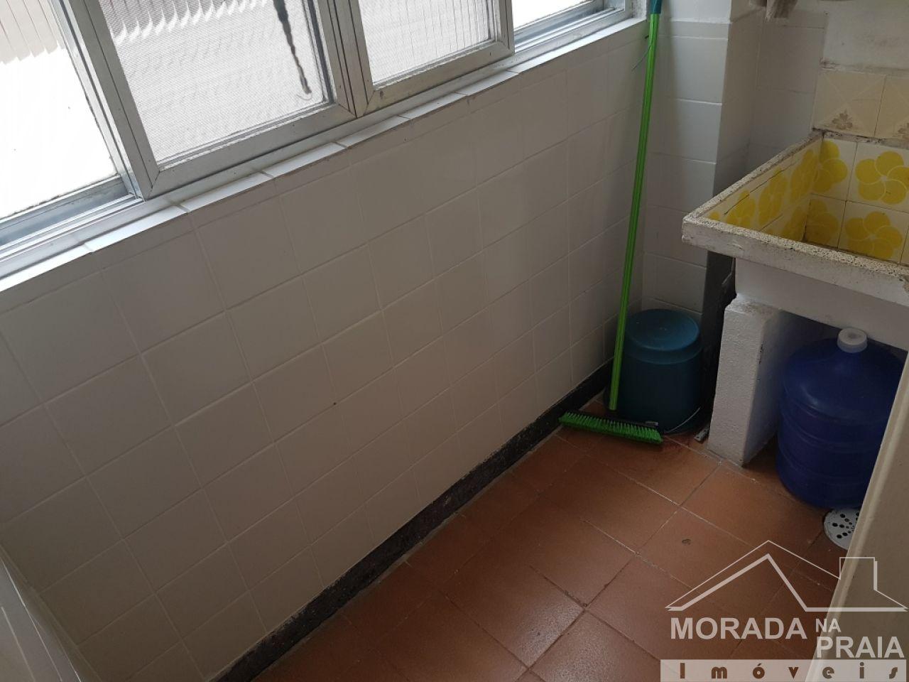 Área de serviço do apartamento com 2 dormitórios em Boqueirão - Praia Grande