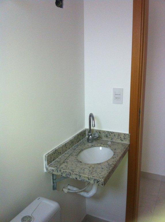 WC social do apartamento com 1 dormitórios em Canto do Forte - Praia Grande