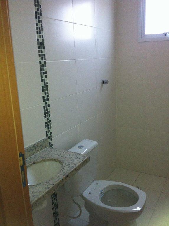 WC suíte do apartamento com 1 dormitórios em Canto do Forte - Praia Grande