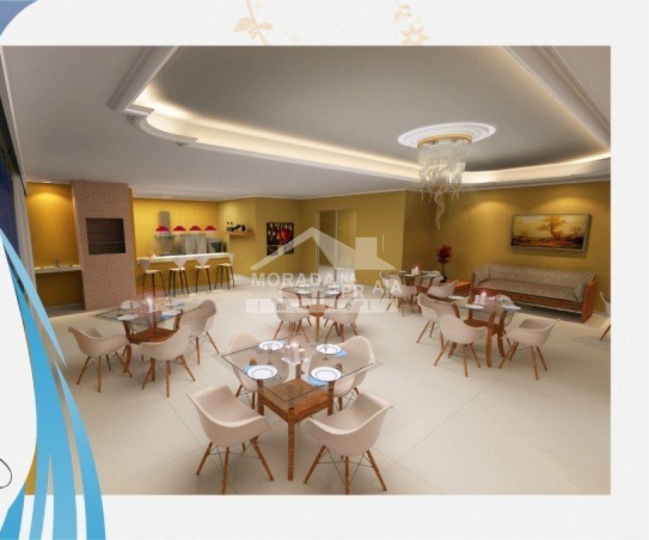 Salão de Festas do apartamento com 3 dormitórios em Campo da Aviação - Praia Grande