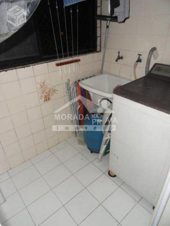 Área de serviço do apartamento com 2 dormitórios em Vila Guilhermina - Praia Grande