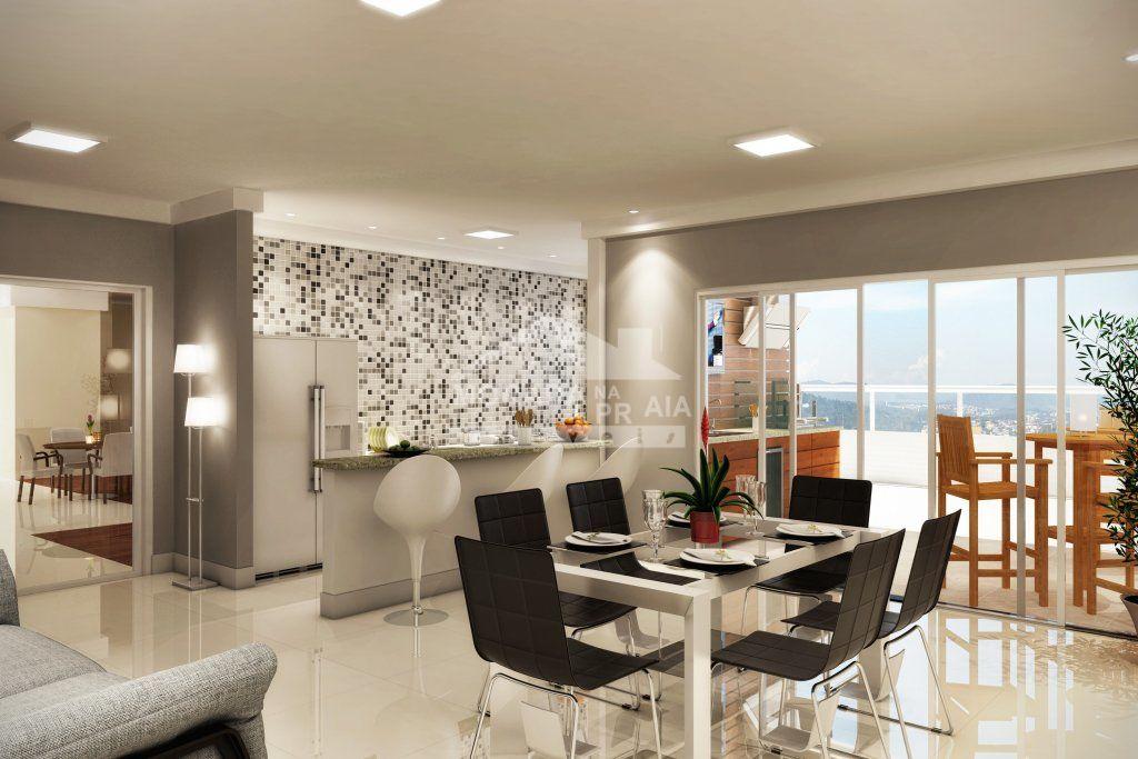 do apartamento com 3 dormitórios em Boqueirão - Praia Grande