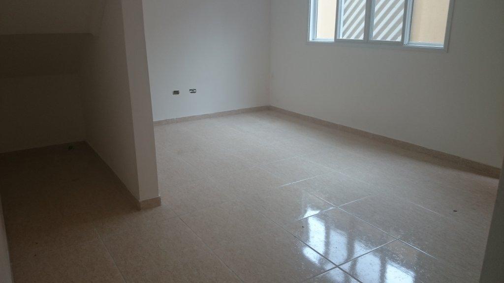 Sala ang 03 do condomínio fechado com 2 dormitórios em Canto do Forte - Praia Grande