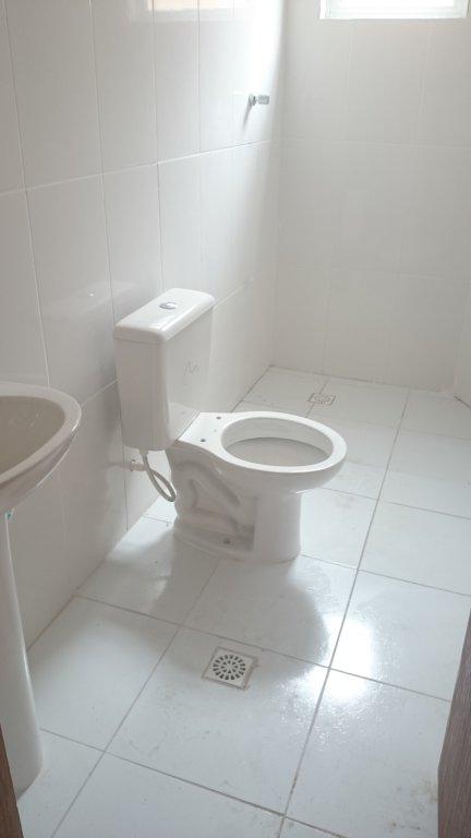WC social do condomínio fechado com 2 dormitórios em Canto do Forte - Praia Grande