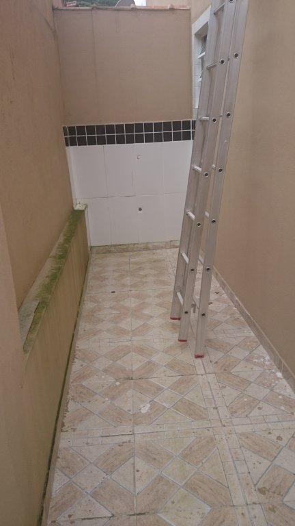 Área de serviço do condomínio fechado com 2 dormitórios em Canto do Forte - Praia Grande
