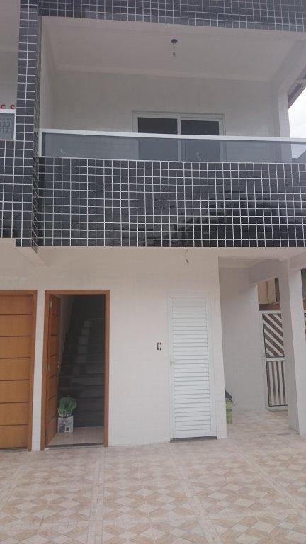 Fachada  do condomínio fechado com 2 dormitórios em Canto do Forte - Praia Grande