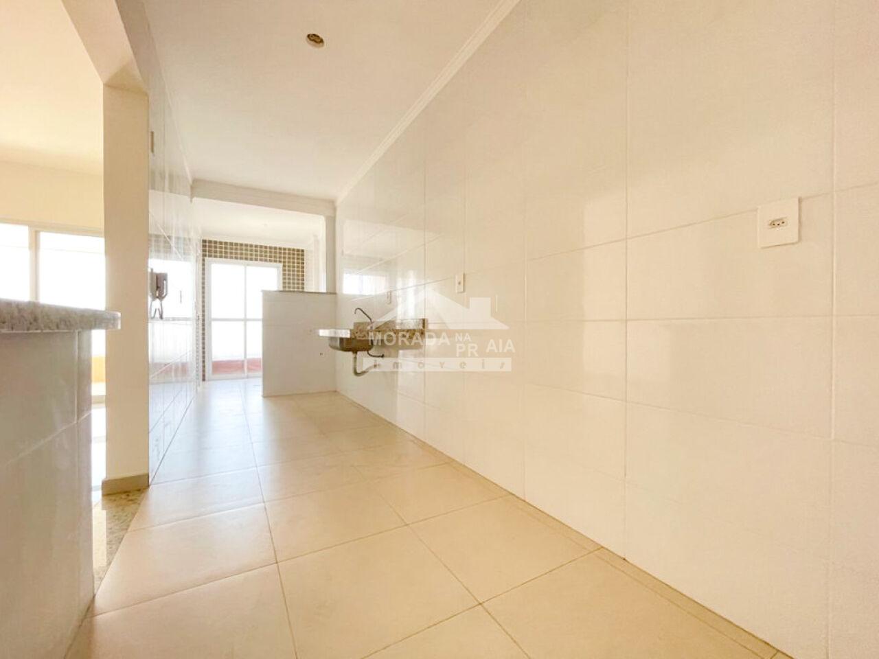 WC suíte 01 do apartamento com 3 dormitórios em Canto do Forte - Praia Grande
