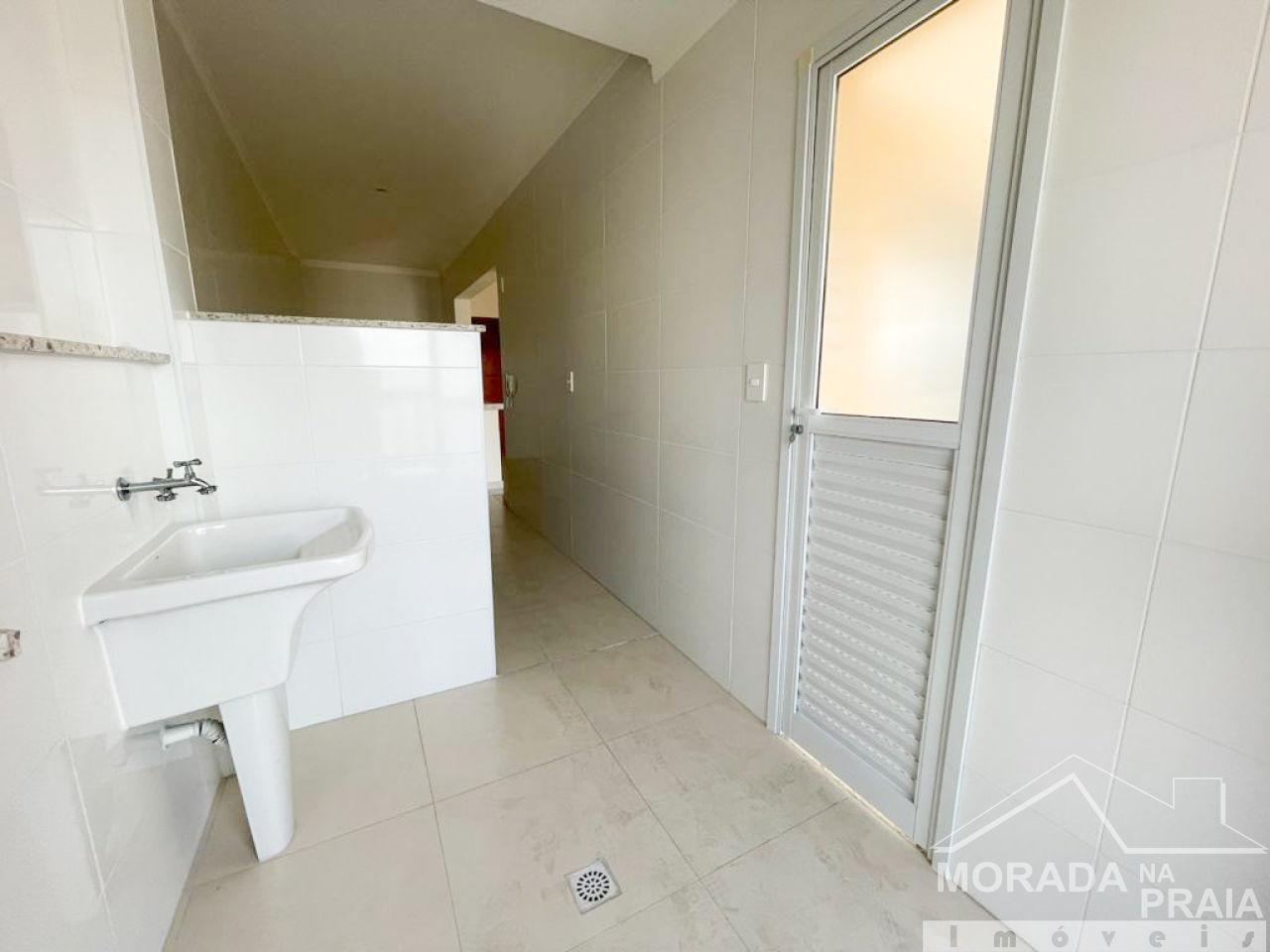 Vista do apartamento com 3 dormitórios em Canto do Forte - Praia Grande