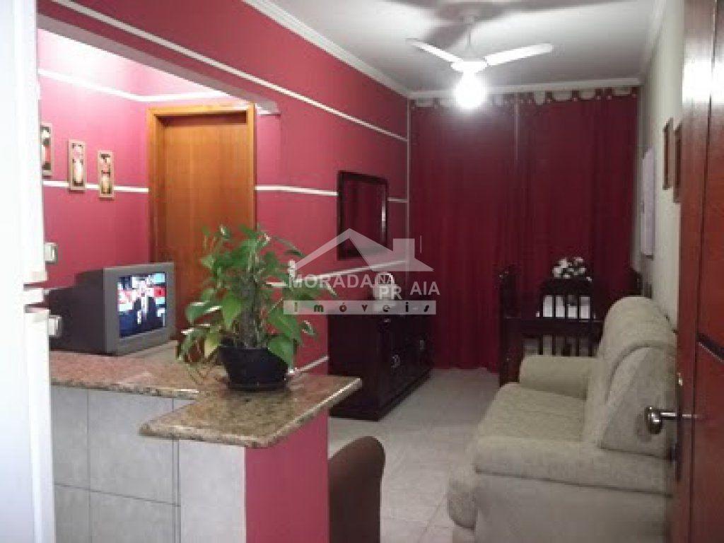 sala ang 03 do apartamento com 1 dormitórios em Cidade Ocian - Praia Grande