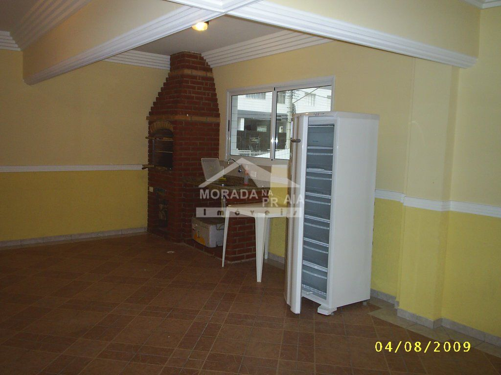 churrasqueira do apartamento com 1 dormitórios em Cidade Ocian - Praia Grande